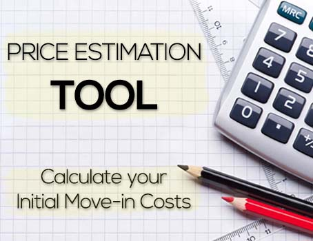 Calculate your move-in costs in only one click!